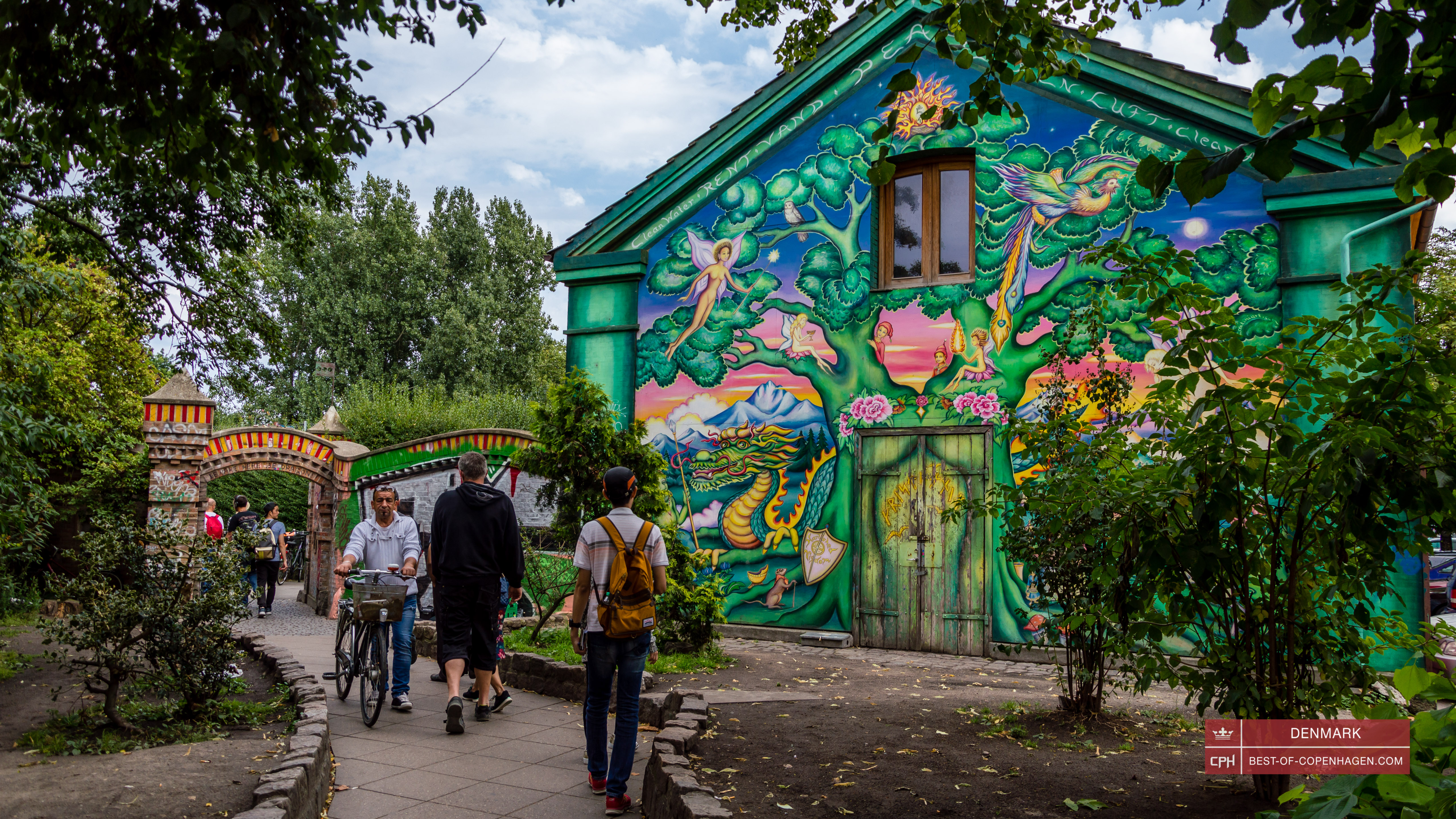 Freetown Christiania, Copenhagen, Denmark